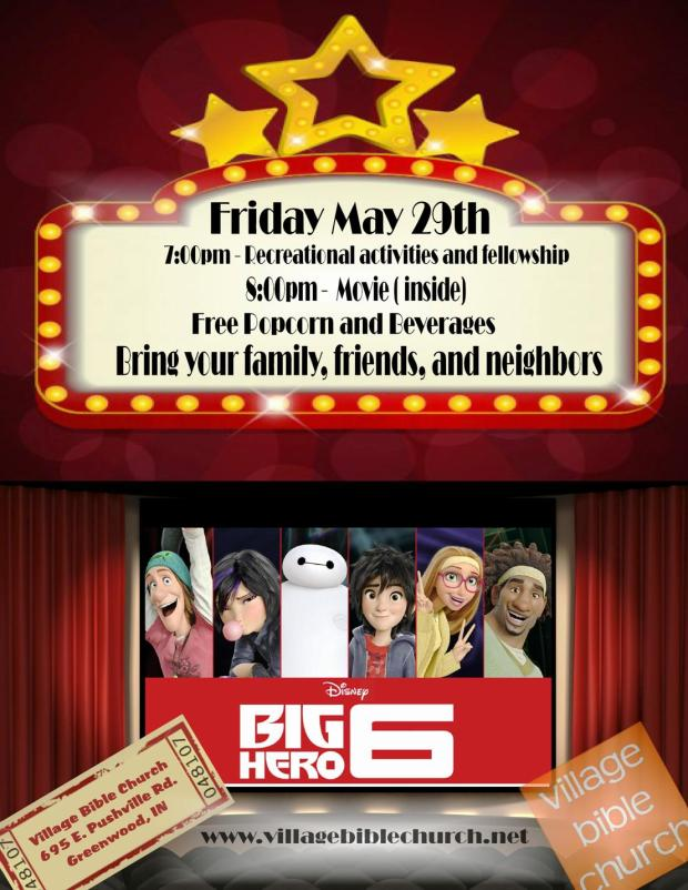 movie night may 29