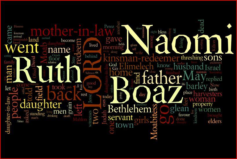 2017 Sermon Series By Pastor Ken Dalton The Book Of Ruth
