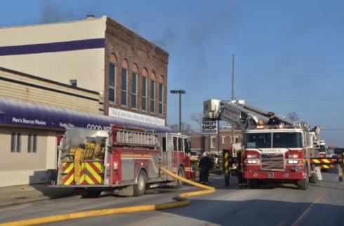 Fire at Good News Ministries